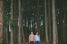 romantic pine forest engagement0013