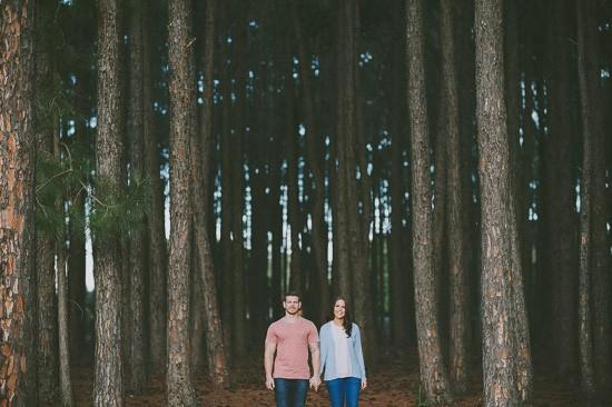 romantic pine forest engagement0013