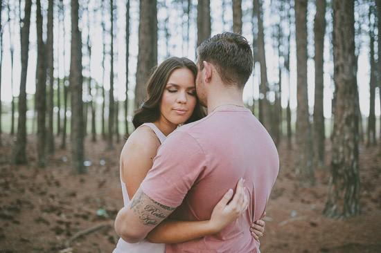 romantic pine forest engagement0020