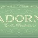 Adorn Font