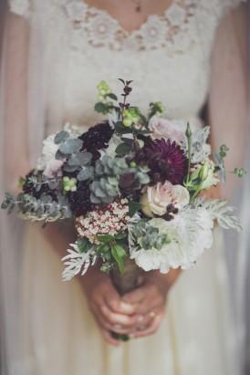 Australian gum wedding bouquet