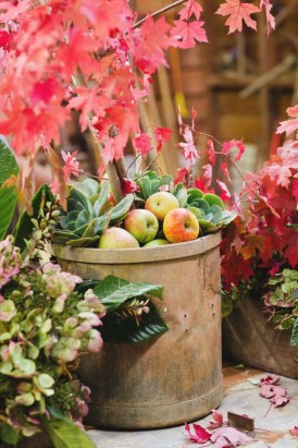 Autumn barn wedding0043