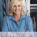 a glass of bubbles with Nikki of styling you