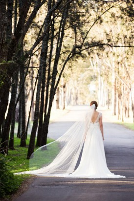 bride in hunter valley