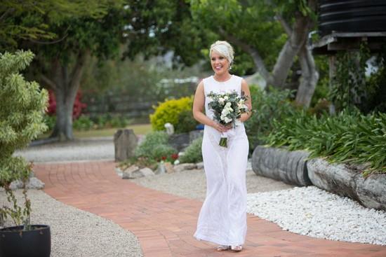 bride in white rachel gilvert