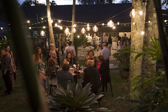 byron bay outdoor reception