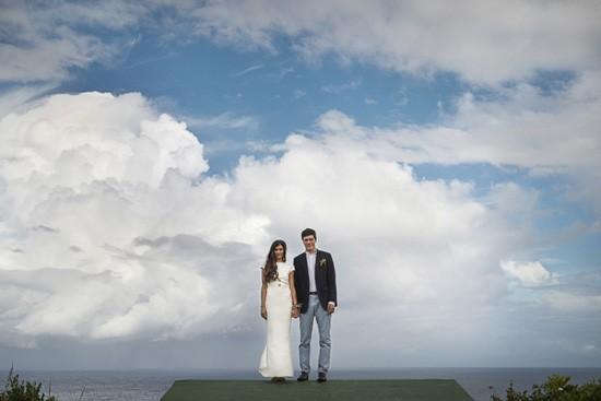 byron coastline wedding