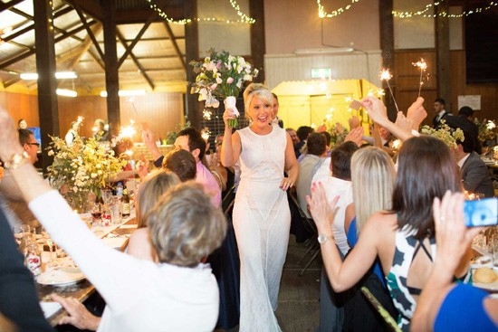 country hall wedding reception