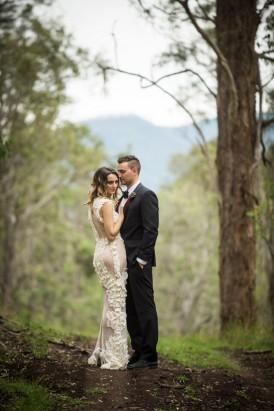 country wedding portrait