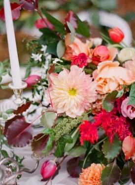 dahlia floral arrangement