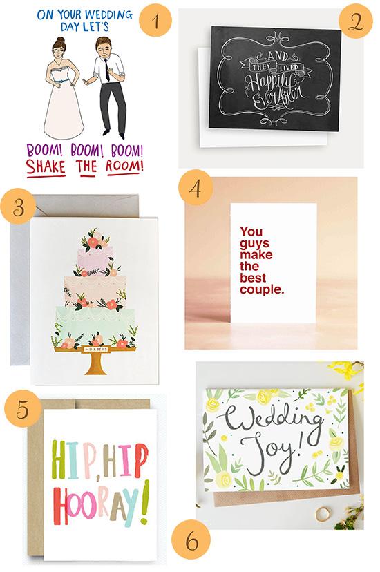 etsy roundup wedding cards