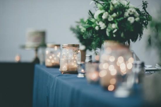 fairylight wedding decor