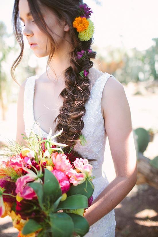 fiesta inspired bride