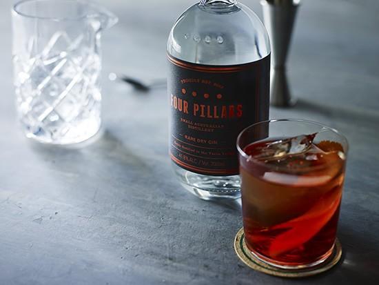 four pillars gin negroni