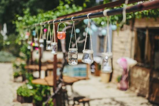 glass jar wedding decorations