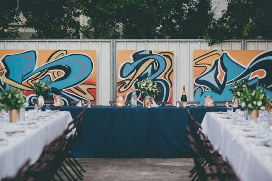 graffiti wedding location