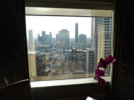 grand hyatt ambassador suite bedroom view two