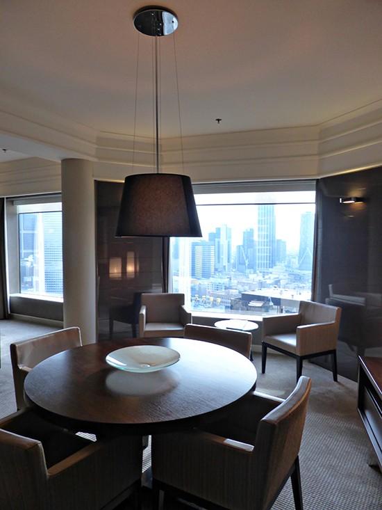 grand hyatt ambassador suite dining
