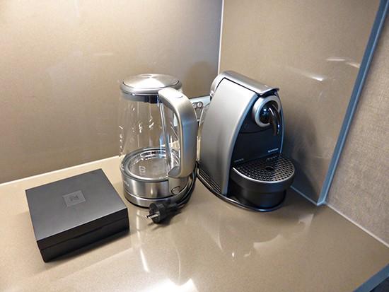 grand hyatt ambassador suite nespresso machine
