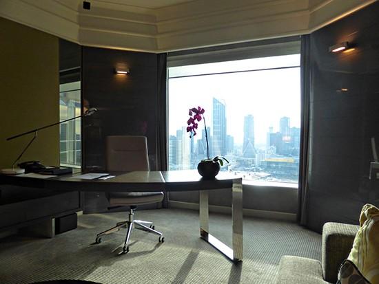 grand hyatt ambassador suite office