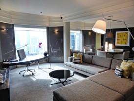 grand hyatt ambsassdor suite layout two