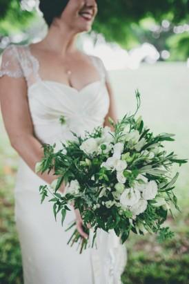 herb wedding bouquet