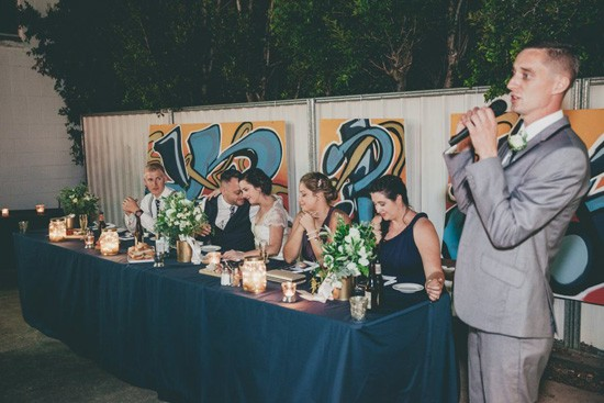 industrial wedding reception speeches