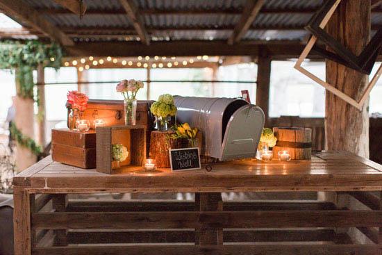 mailbox wedding wishing well