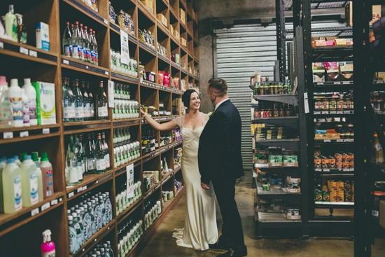 market wedding photograph