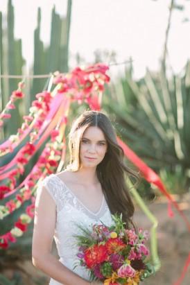 mexican fiesta bride