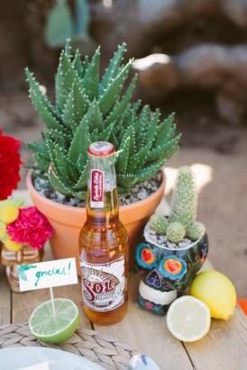 mexico inspired wedding decor