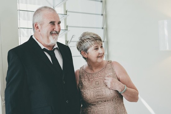 mother and father of bride