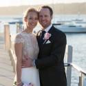 newlyweds at watsons bay