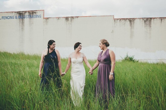 noosa bride and bridesmaids