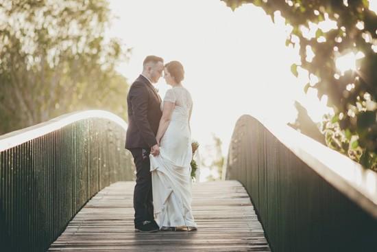 noosa wedding sunset photo