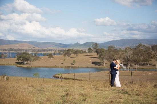 queensland countryside wedding photo