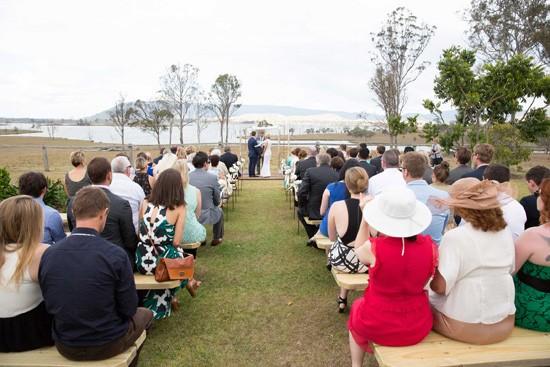queensland lakeside wedding