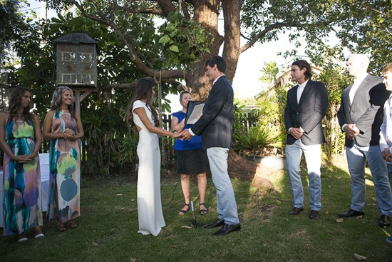wedding at secret garden byron bay