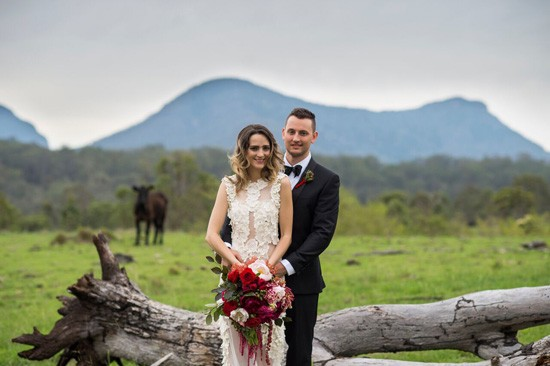 wedding at spicers canopy