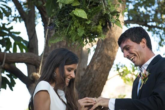 wedding ceremony in byron bay