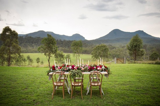 wedding decor at spicers