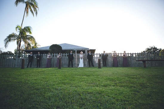 yandina station modern wedding