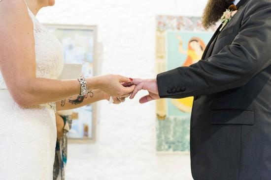 Art Gallery Wedding Ceremony