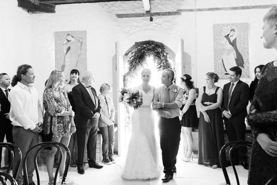 Art Gallery Wedding Processional