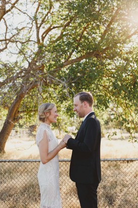 Australian country wedding