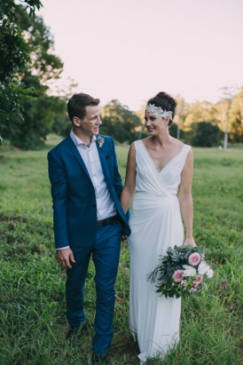 Australian mountain wedding