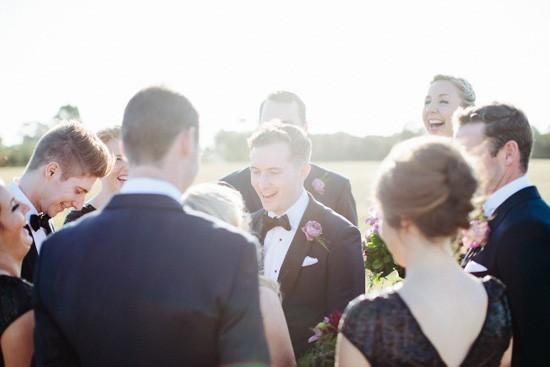 Black Tie Melbourne Wedding Party