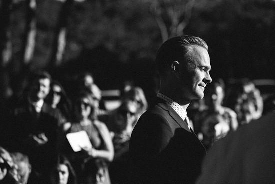 Black and white photo of Sydney wedding