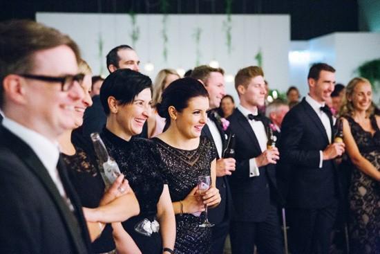 Black tie wedding in Melbourne