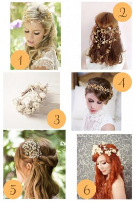 Boho Hairpieces